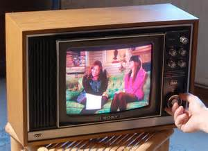 when were colored tvs invented golden age tv recreations
