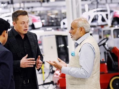 elon musk india modi government offers tesla land to set up factories in