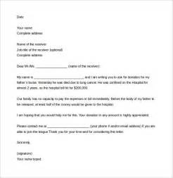 template letter asking for donations how to write a letter asking for donations template