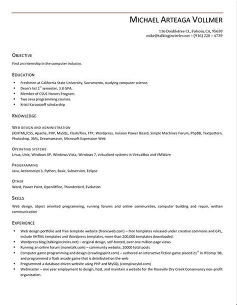 Openoffice 4 Resume Template by 7 Best Resume Template Open Office Images On