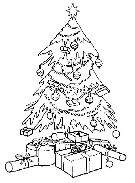 coloring christmas tree coloring point