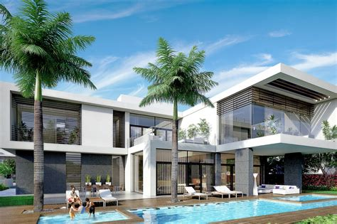 style mansions district one luxury beachfront mansions in dubai