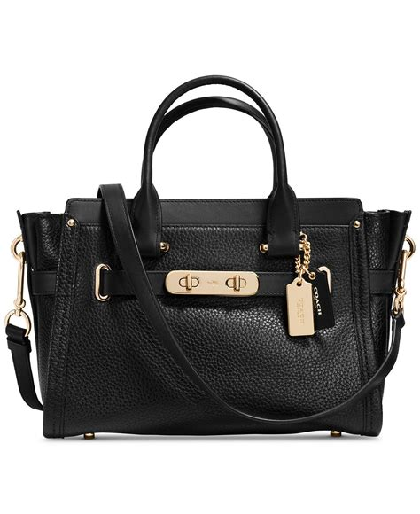 Coach Swagger Bag By Bagladies coach swagger 27 in pebble leather pebbled leather