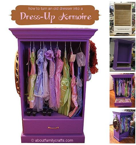 girls dress up armoire how to repurpose a dresser into a dress up armoire love