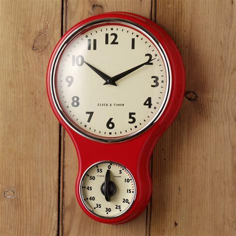 kitchen clocks clocks retro kitchen clocks retro red kitchen clock