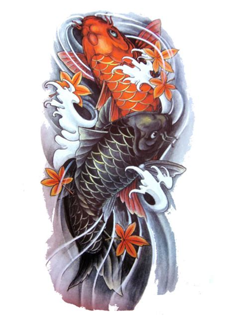 koi fish tattoo flash designs top quality high resolution