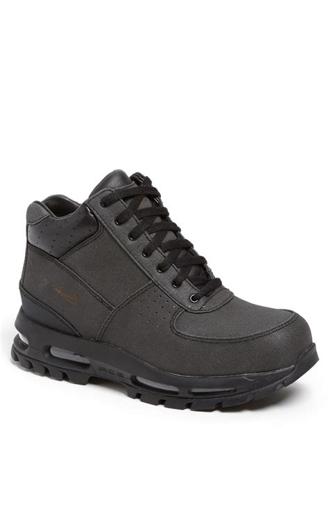nike acg air max goadome boot in black for black