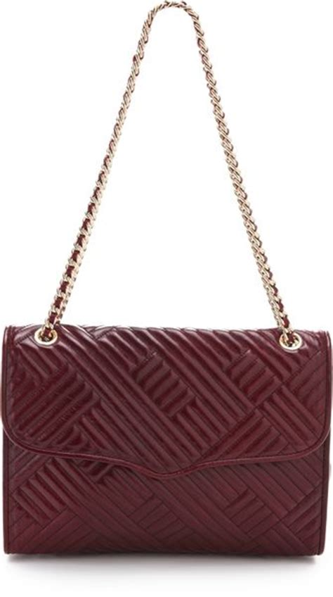 Minkoff Large Quilted Affair by Minkoff Line Quilted Large Affair Bag In Purple