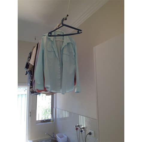 Ceiling Mounted Clothes Drying Rack by Clothes Drying Rack Hanging From Ceiling Talkbacktorick