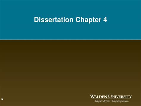 dissertation chapter 4 ppt dissertation writing workshop chapters 4 and 5