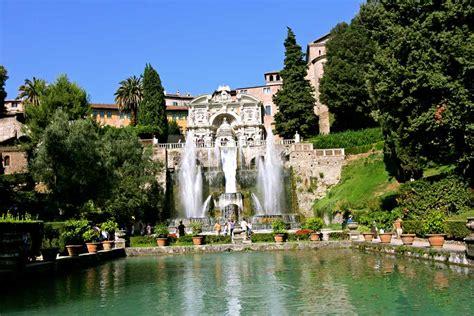 ingresso villa d este villa e villa d este le maestose ville di tivoli