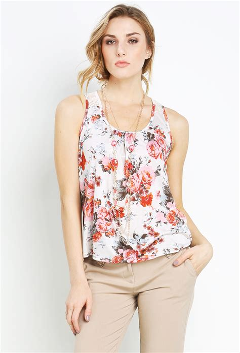 Best Seller Dress Pink Necklace Tmc printed top w necklace shop best sellers at papaya clothing