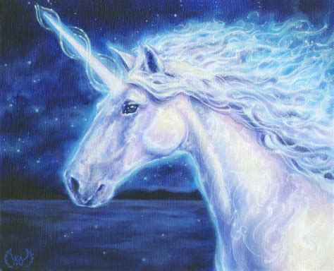 painting unicorn unicorn serpentfeathersserpentfeathers