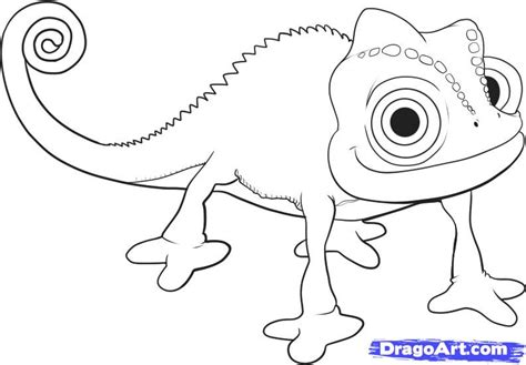 Pascal Tangled Coloring Pages how to draw pascal step by step pop culture
