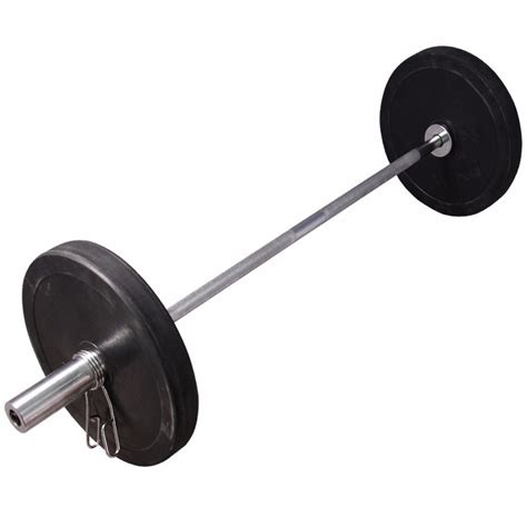Barbell Weights olympic barbell bar rubber weights plates set powerlifting weightlifting fitness 163 26 47