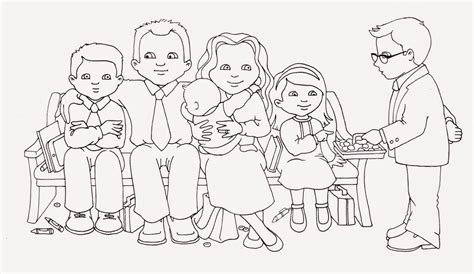 lds family coloring coloring pages
