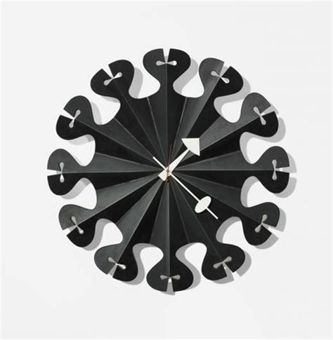 100 best made wall clock nelson wall clock pleated star wall clock by george nelson daily icon
