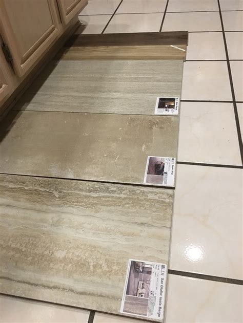 picking flooring tile throughout house