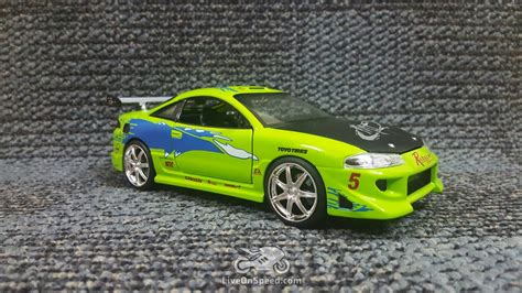 brian s eclipse fast and the furious paul walker fast and furious green car www pixshark