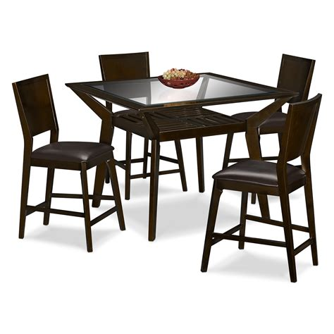 mystic counter height table value city furniture on sale furniture value city furniture