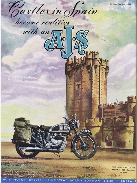 cool vintage motorcycle ads airows