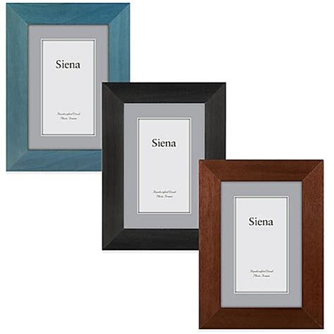 bed bath and beyond frames siena plain wood 5 inch x 7 inch frame bed bath beyond