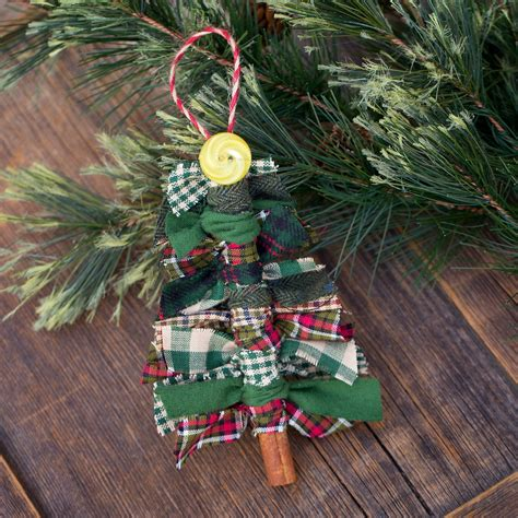 christmas bulbs demcoration with fabric how to make scrap fabric tree ornaments