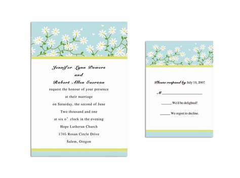 announcement name cards free template engagement invitation word templates free card