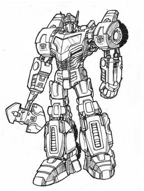 Optimus Prime Coloring Page by 20 Free Printable Optimus Prime Coloring Page