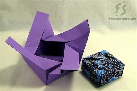 Origami Gift Boxes - easy origami gift box gifts