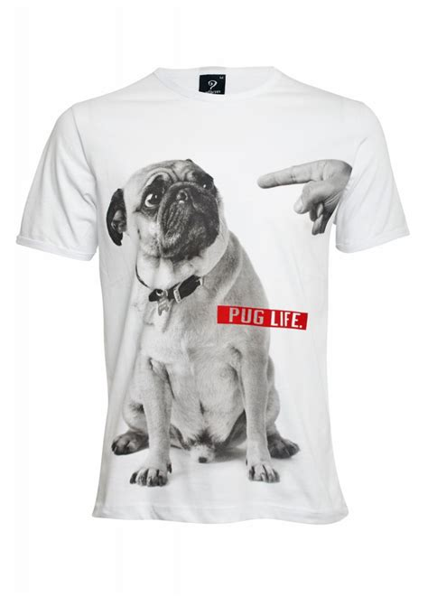 pug tees pug t shirt attitude clothing