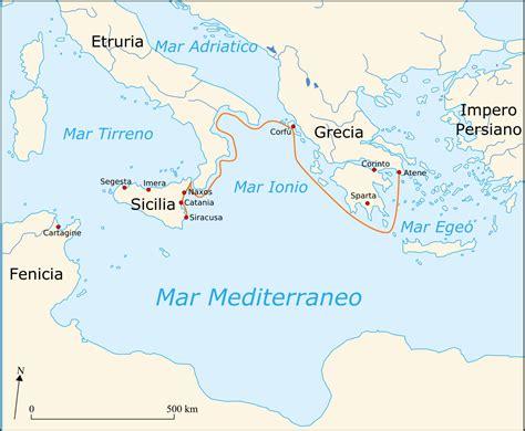 di commercio sicilia spedizione ateniese in sicilia