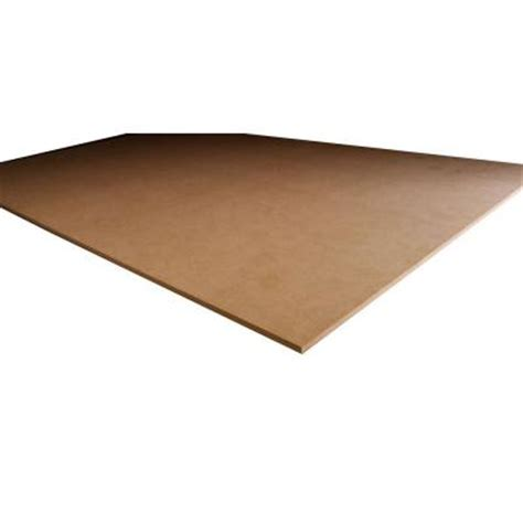 mdf panel common 3 4 in x 4 ft x 8 ft actual 0 750