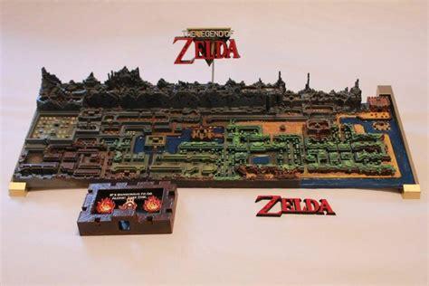 legend of zelda map maker 3d printed map of legend of zelda s hyrule draws internet