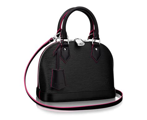 Tas Louis Vuitton Alma Bb Damier Ebene Summer 2016 M91606 best designer handbags 2018 2019 most popular