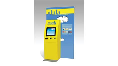 Alula Kiosk Gift Cards Accepted - vending machine offers cash for gift cards in ohio