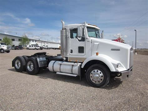 kenworth truck cab 2007 kenworth t800 day cab truck for sale 525 258 miles