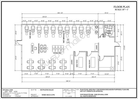 nail salon floor plan salon design space planning floor plan layouts for salons