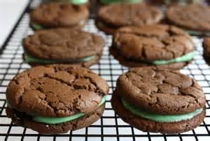 rah cha chow chocolate mint sandwich cookies
