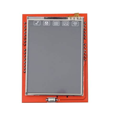 Lcd Touch Screen Ftf 24 Inch Arduino Compatible buy lcd module 2 4 inch 2 4 quot tft lcd shield socket touch panel module for arduino uno r3