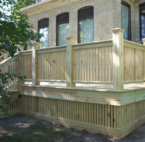 compare best decking material wood decks vs composite