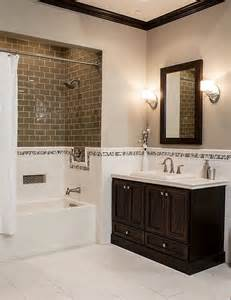 brown tile bathroom 40 brown bathroom tile ideas and pictures