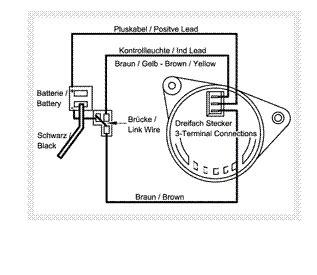 3 pin alternator wiring diagram 31 wiring diagram images
