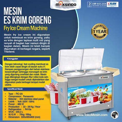 Mesin Es Krim Roll jual mesin fry es krim roll goreng di tokomesinsolo tokomesinsolo