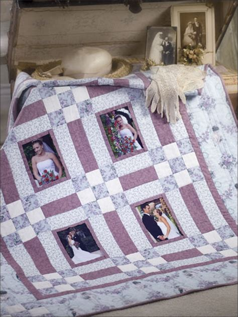 Wedding Memory Quilt by Quilting Wedding Memories Eq00111