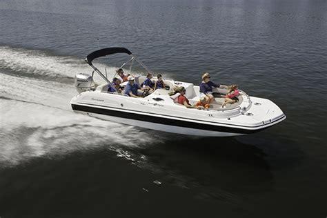 hurricane deck boat fishing package ss 232 ob sundeck sport hurricane deck boats