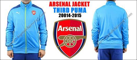 Hoodie Liga Arsenal Ah 544 Biru jaket arsenal third n98 blue sky 2014 2015 big match