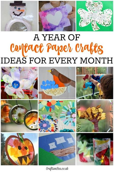 Contact Paper Crafts For Toddlers - best 25 contact paper crafts ideas on cloud