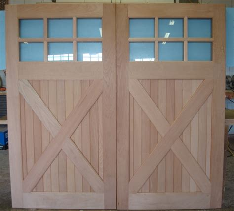 swing out carriage doors clingerman doors custom wood garage doors clearville pa