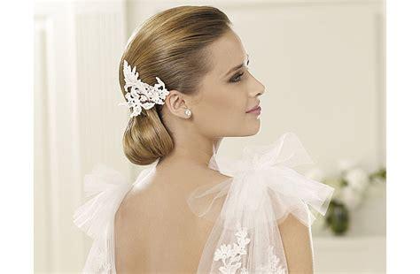 Wedding Hair Sleek Updos by Sleek Vintage Wedding Hairstyle Low Bridal Updo 2 Onewed